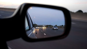 Chesterfield, MO driving school - review mirror